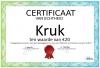 Certificaat Kruk
