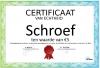 Certificaat Schroef